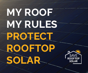 roof top solar banner