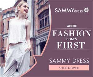 Sammydress Fashion! promotion